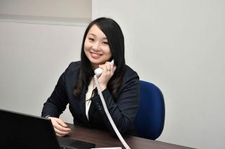 大手グループ企業でデータ入力や電話応対の事務