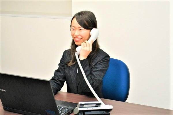 お客様情報のデータ入力や受付など一般事務